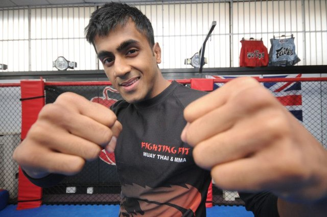 South Shields MMA fighter Shaj Haque targets America