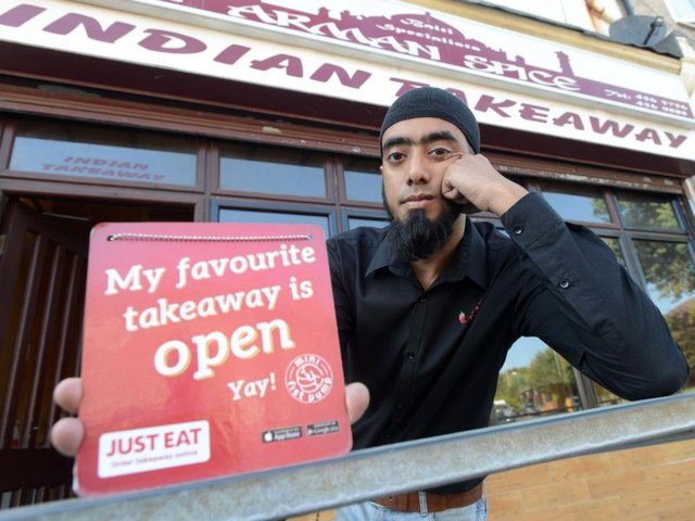 Takeaway Owner Launches Fight Against Just Eat In Business