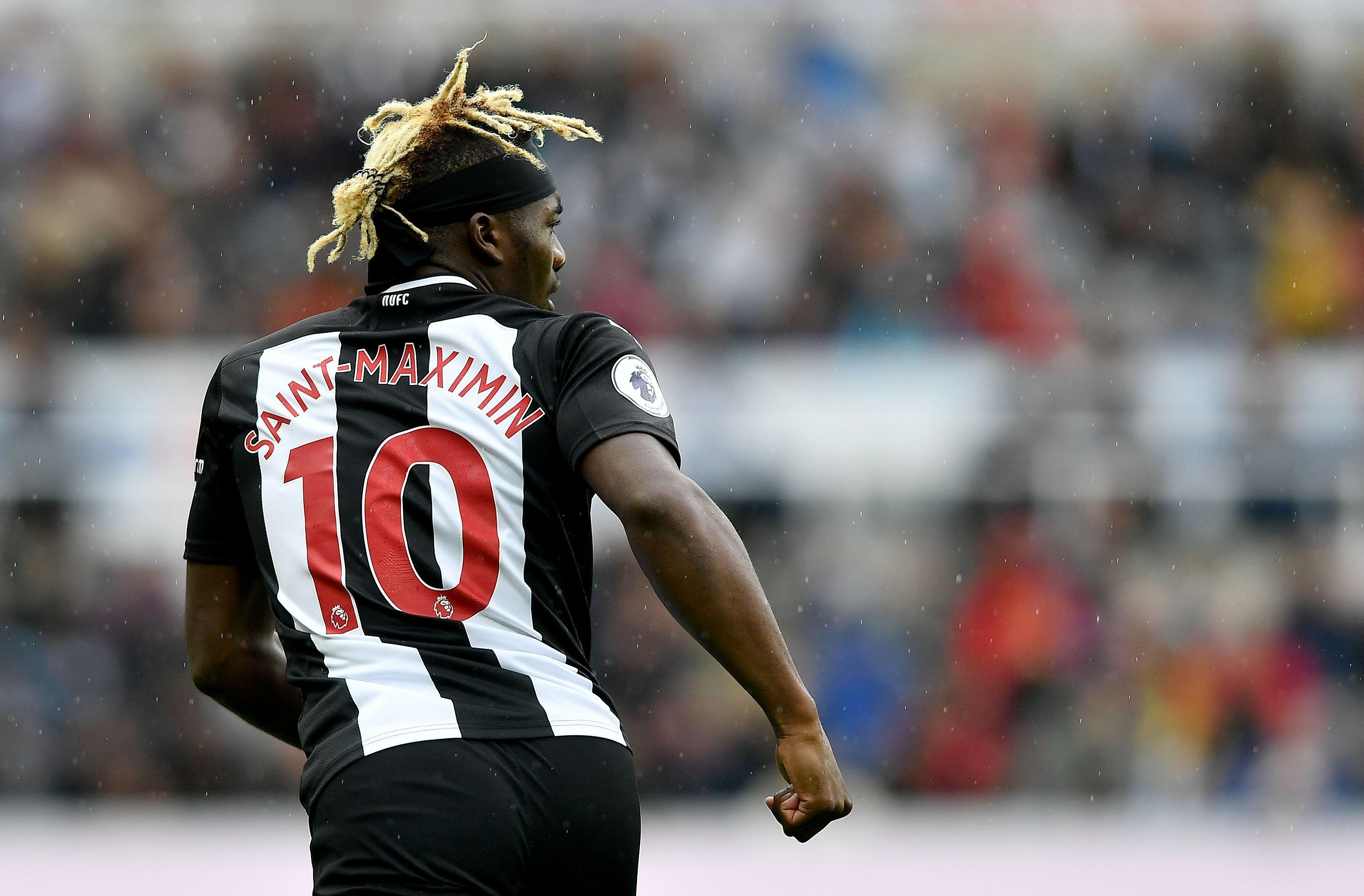 Steve Bruce Reveals Why He Benched Allan Saint Maximin