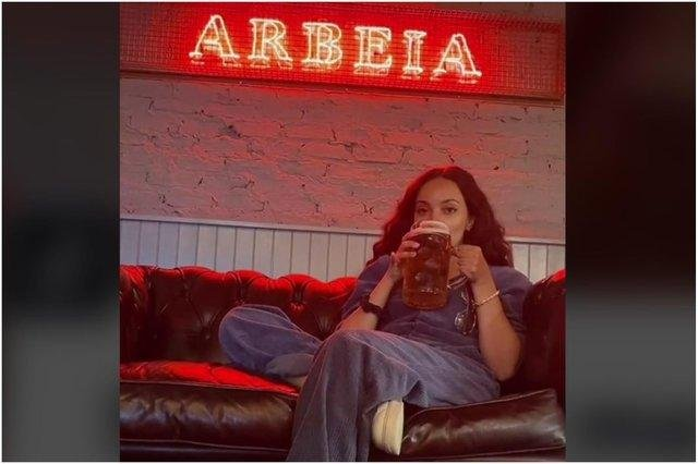 Little Mix singer jade Thirlwall. Image by Arbeia bar.