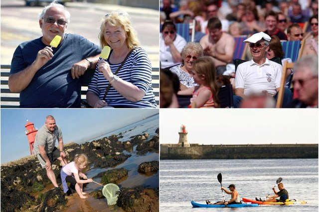 You certainly know how to enjoy the great weather as these archive Shields Gazette photos show. Are you pictured?