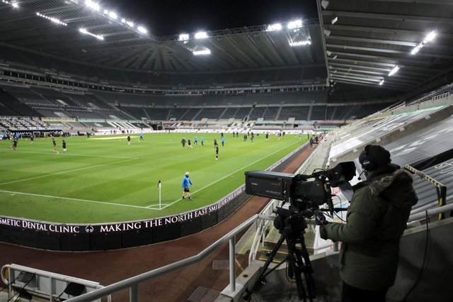 St James's Park, the home of Newcastle United Football Club. (Photo by Richard Sellers - Pool/Getty Images)