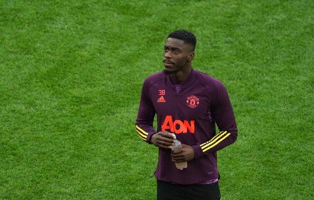 Manchester United defender Axel Tuanzebe.
