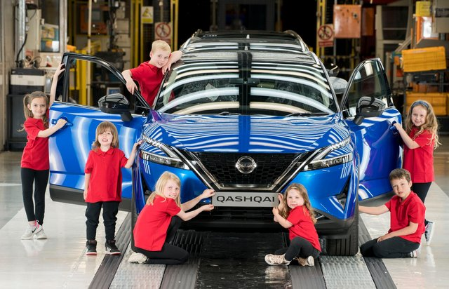Young inspectors at Nissan as the firm promises to offer everyschoolchild in the North Easta place at a Nissan Skills Foundation event