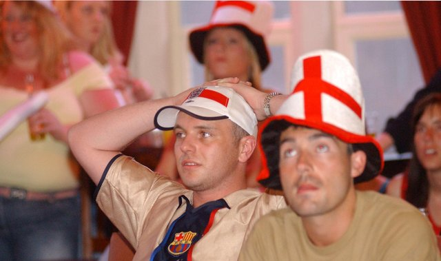 Watching England v France intently. Are you pictured?