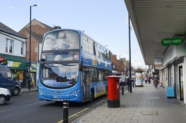 Go North East are looking to hire bus drivers.