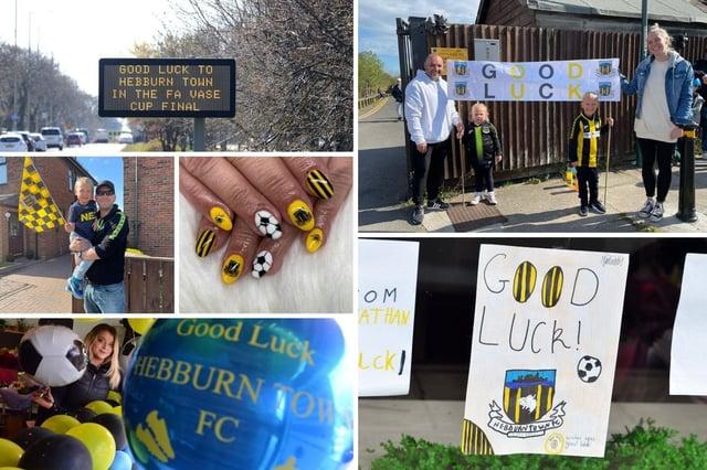 Good luck to Hebburn Town at Wembley