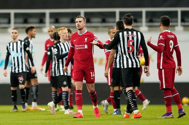 Liverpool captain Jordan Henderson is set to host a Premier League meeting - and Newcastle United's Jamaal Lascelles is invited. (Photo by Owen Humphreys -Pool/Getty Images)