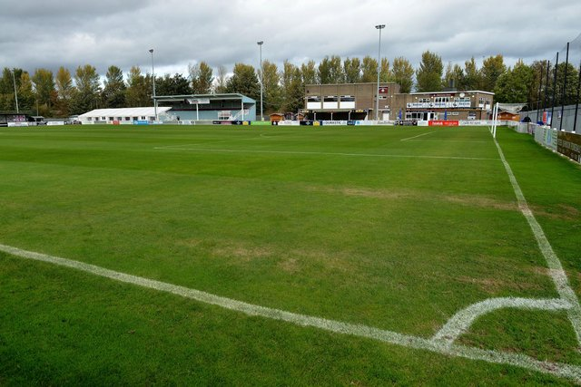 The homes will be built near Mariners Park, the home of South Shields FC. Picture by FRANK REID