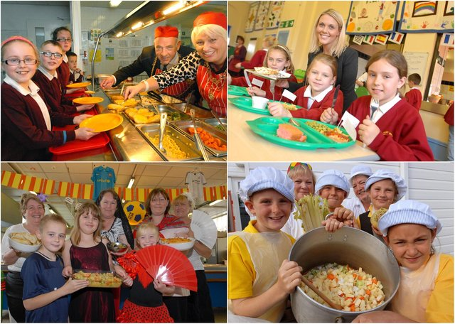 Is there someone you know in our school meals round-up?
