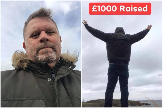 Chloe's uncle, Glenn Rowe, set himself the task of running and walking 1,000 miles in an effort to raise £1,000 for the Chloe and Liam Together Forever Trust.