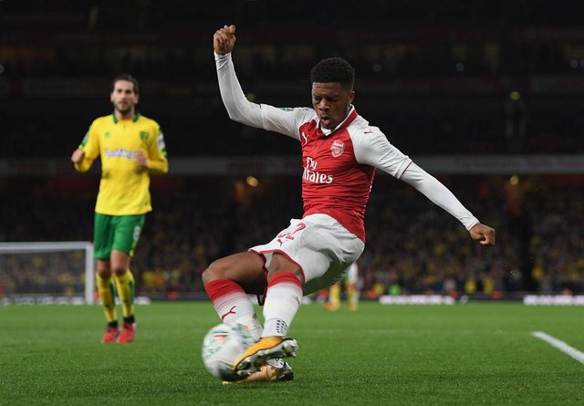 Chuba Akpom has been linked with a summer move to League One