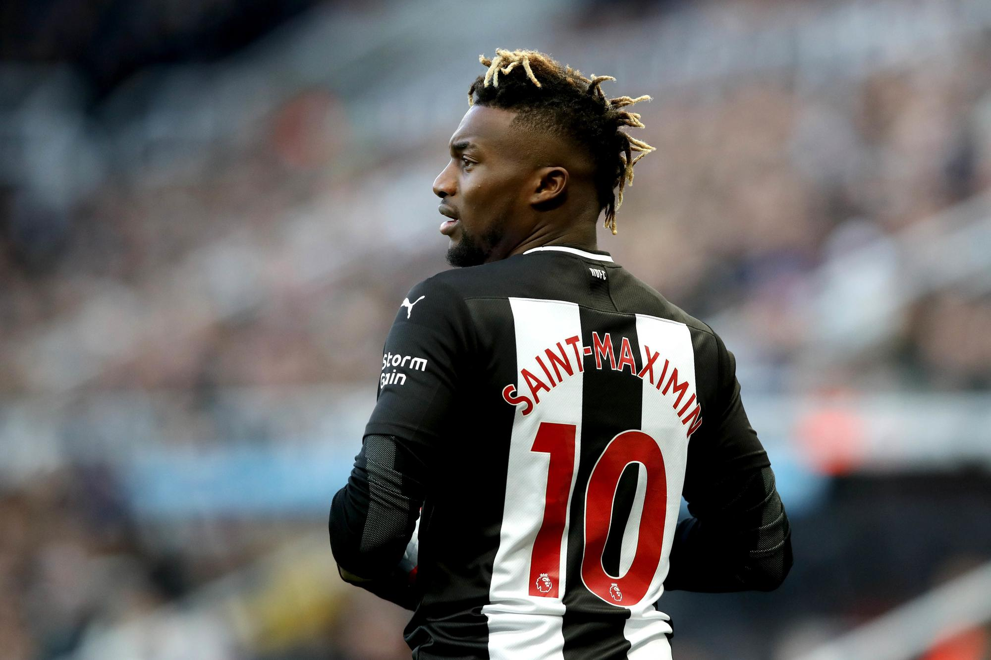 Allan to reacts  Newcastle Saint-Maximin United takeover