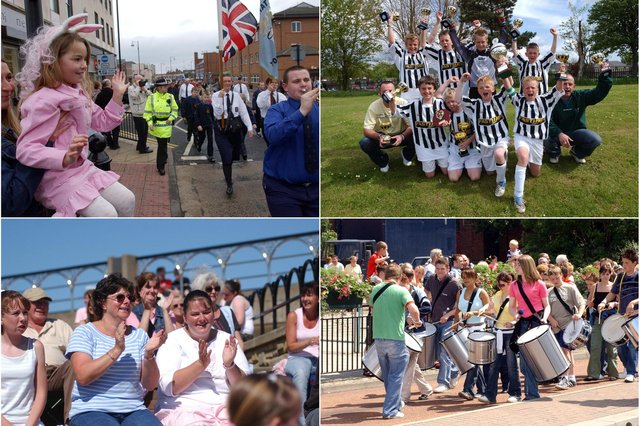 Tall ships, trophy-winning footballers and drummers. It all adds up to 2005.