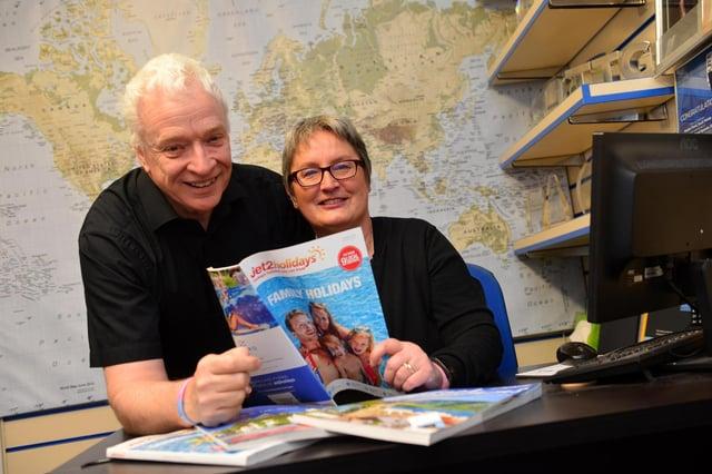 Westoe Travel owners Graeme and Joan Brett