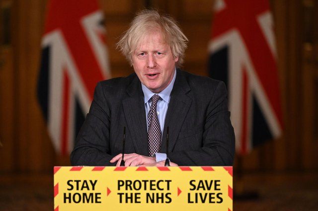 Prime Minister Boris Johnson has warned Britain to brace for a third wave of coronavirus infections. Photo: Getty Images.