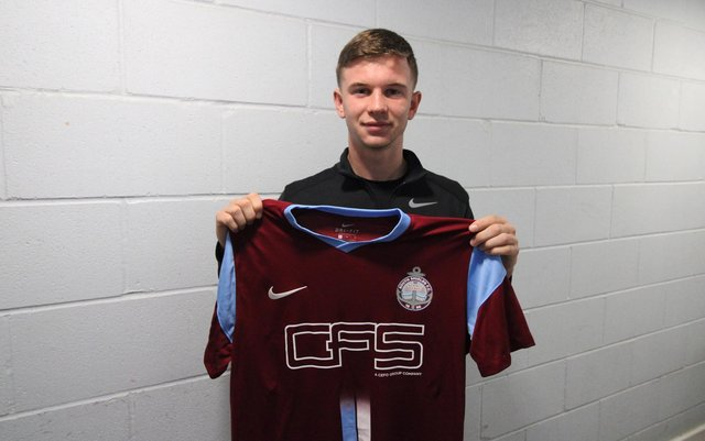 South Shields have made their third signing of the summer.