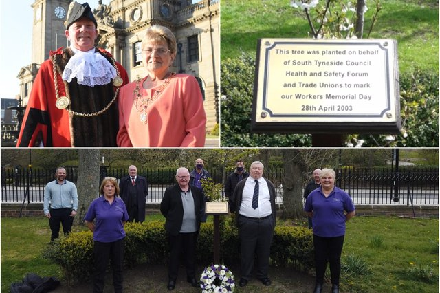 Ongoing Covid restrictions mean this year's International Workers' Memorial Day tributes will be observed virtually in South Tyneside.