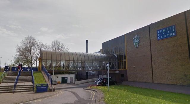 Temple Park leisure centre in South Shields