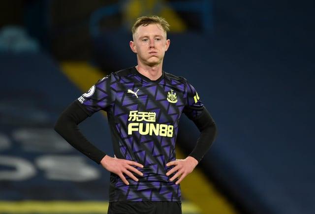 Sean Longstaff of Newcastle United.