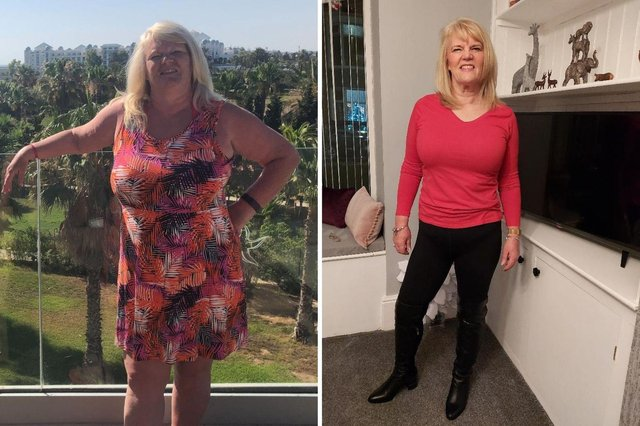 Jan Carr is enjoying her new healthy life after shedding five stone - and now wants to help others.