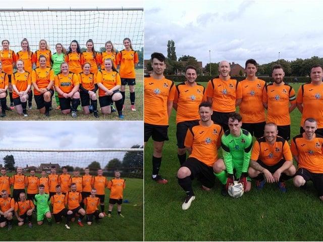 Players at Hebburn Involve FC