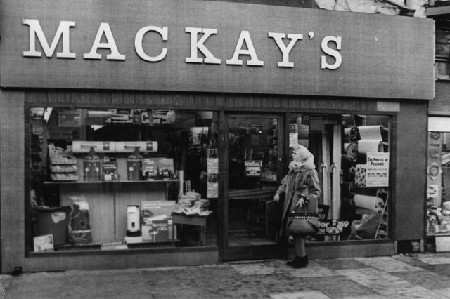 A view of Mackays DIY shop in Frederick Street. Did you like to visit this shop?
