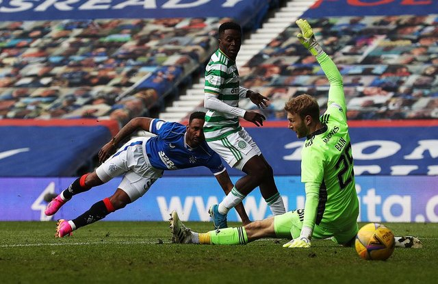 Rangers and Celtic at Ibrox Stadium. (Photo by Ian MacNicol/Getty Images)