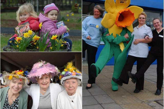 10 daffodil scenes from the past. How many do you remember?