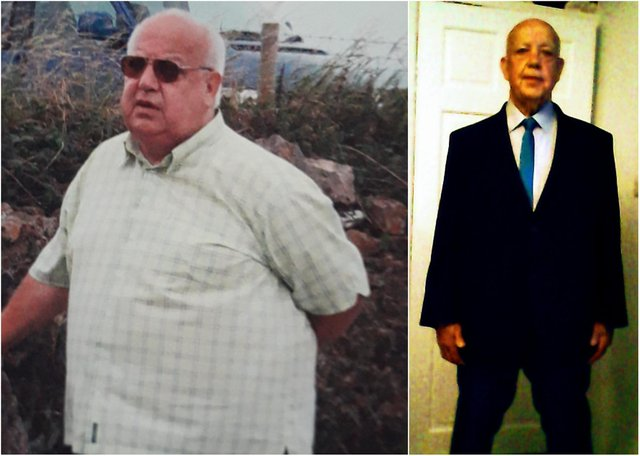 Ex-bus driver Ian McNeill rediscovered old interests thanks to near 10-stone weight loss