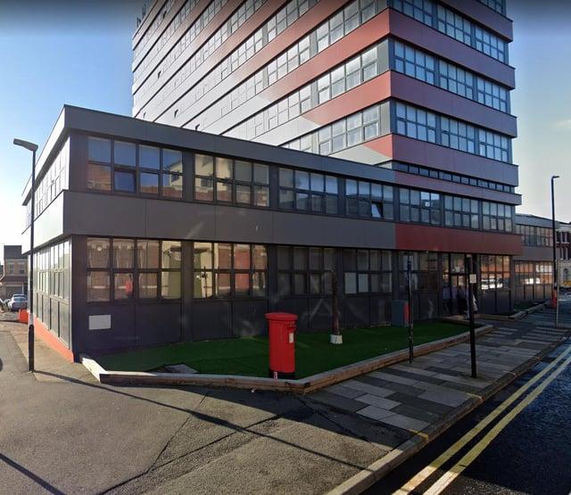 Jamie Birrell broke into the private concierge area of the Horizon Apartments in Sunderland