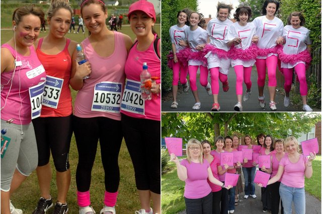 See how many of these Race For Life scenes you remember.