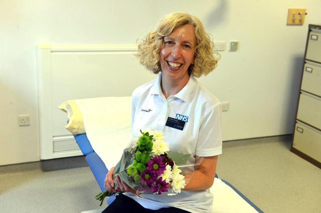 Senior physiotherapist Judith Briggs retires after 30 years in South Tyneside.
