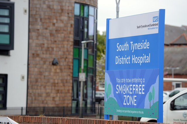Services at South Tyneside District Hospital have been hit by the pandemic.
