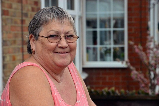 Marion Jolliff is back home in Pennywell after battling Covid-19 and has now received both vaccines.