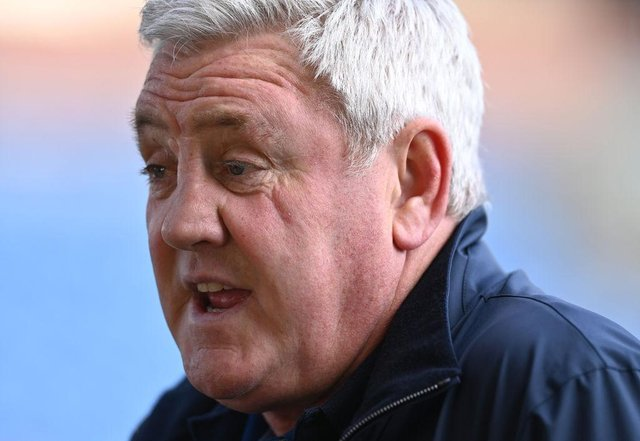 Newcastle United head coach Steve Bruce. (Photo by Stu Forster/Getty Images)