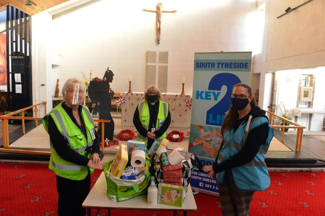 The Key2Life food bank is just one of Key's projects in South Tyneside. Picture by Stu Norton.