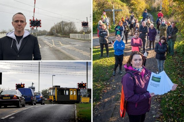 There has been a strong and growing backlash to proposals for a new road-over-rail bridge