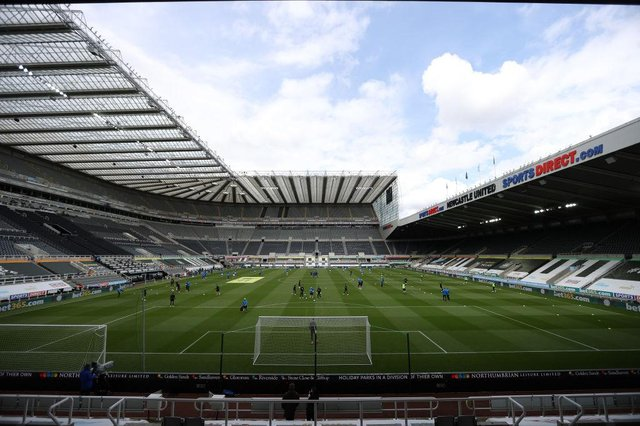St. James Park. (Photo by Molly Darlington - Pool/Getty Images)
