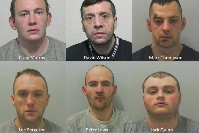 The six outstanding fugitives