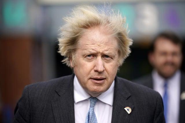 Prime Minister Boris Johnson. Photo credit: Christopher Furlong/PA Wire.