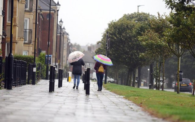 Wet, windy and warm weather are all forecast by the Met Office for the week ahead.