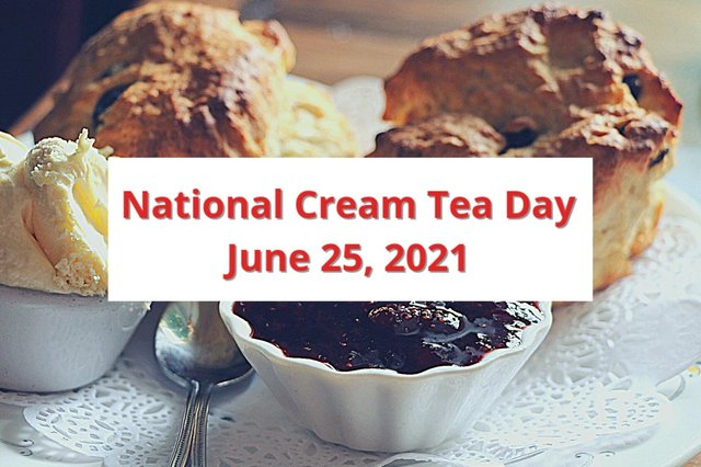 Will you be marking National Cream Tea Day on Friday, June 25?