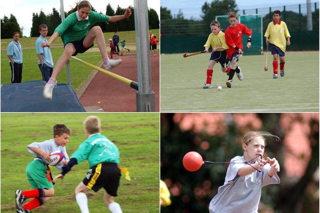 Did you take part in the games? Take a look through our Gazette archive photos.