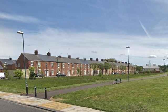 The incident happened in Stothard Street, Jarrow