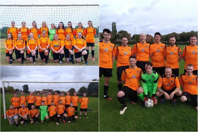 Players at Hebburn Involve F.C