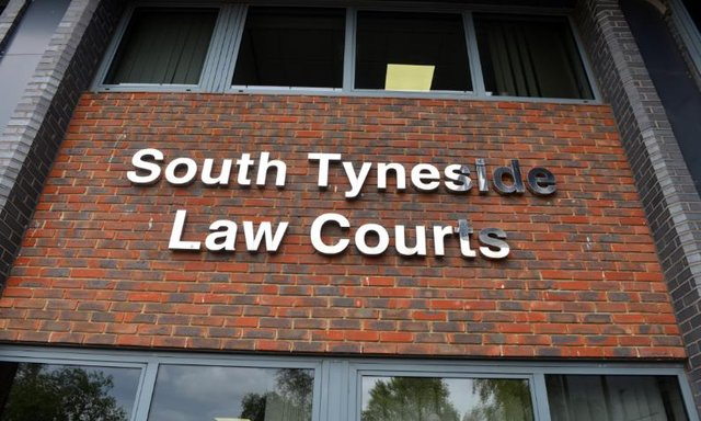 The case was heard at South Tyneside Magistrates' Court.