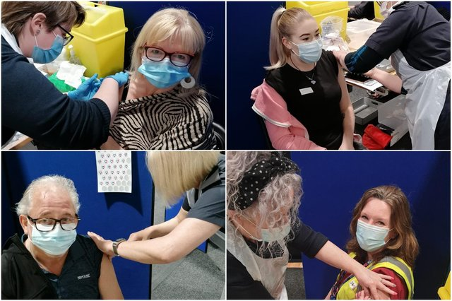 Tyne and Wear Fire and Rescue Service has helped vaccinate around 11,000 people so far as its staff stepped forward to volunteer their skills.