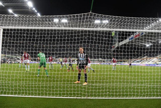 Newcastle United have some big contract decision to make at the end of the season. (Photo by Stu Forster/Getty Images)