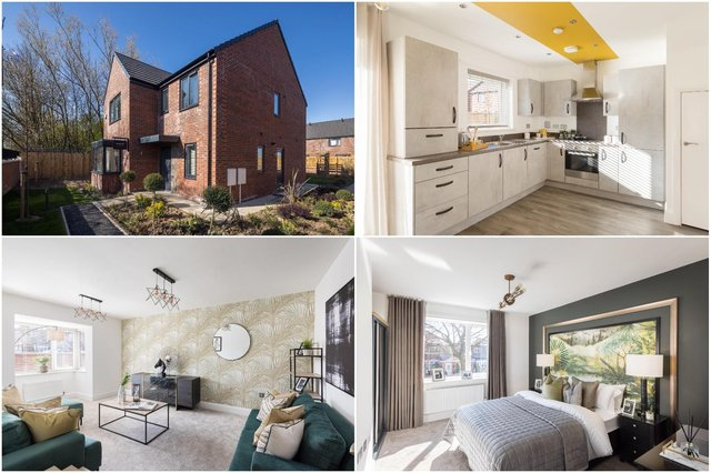 Pictures from the Wardley and Norwood showhomes